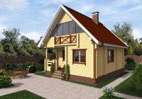 дом из клееного бруса 100м2 под ключ