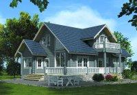 дом из клееного бруса 250м2 цена