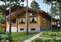 комбинированный дом из клееного бруса екатеринбург