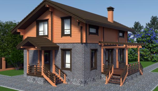 строительство комбинированного дома в екатеринбурге