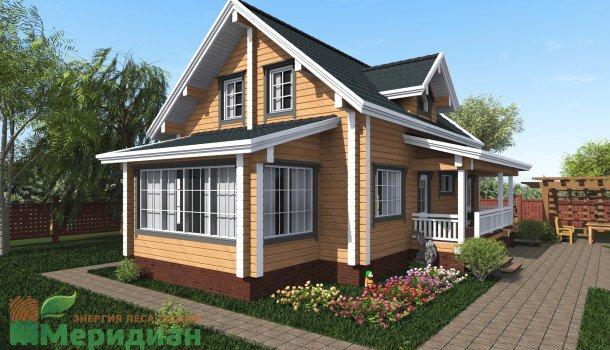 Проект дома 140м2